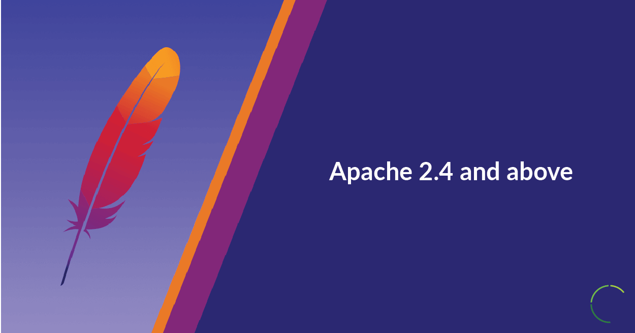 Apache 2.4 and above