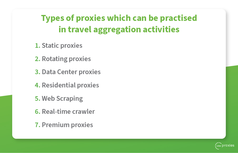 proxy for travel aggregation