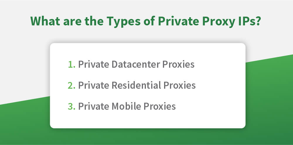 private proxy ips