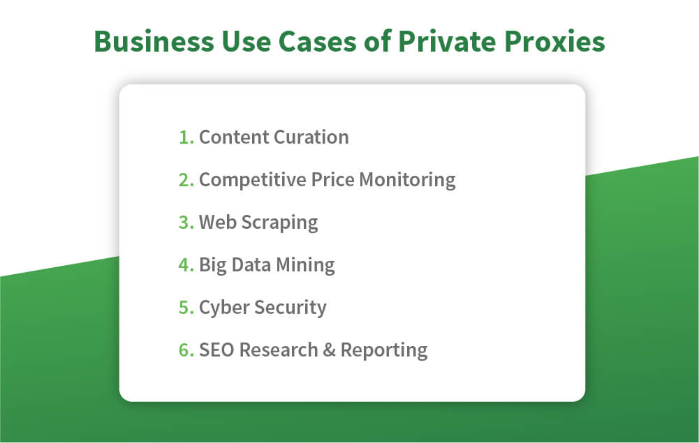 use cases private proxies